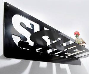 Typeshelf – A Steel Shelf by Ufuk Keskin