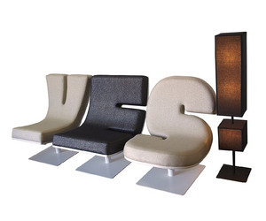 Typographic Furnishings by Tabisso
