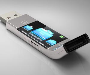 U Transfer USB Stick Concept by Yiyan Cao