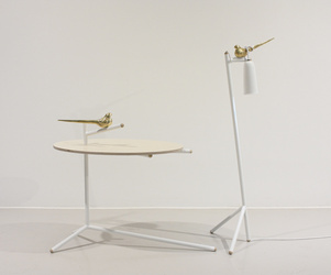 Uccello Table & Lamp