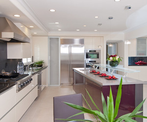 Ultra Contemporary Remodeled Kitchen in Northern Calif.