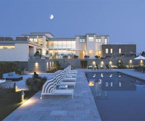 Ultra-Modern Rear Elevation Home