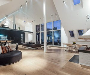 Ultra-modern Swedish Pad with a Loft