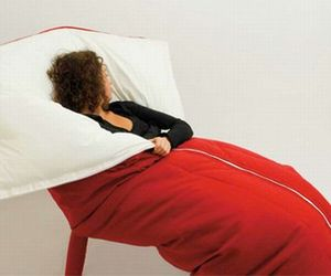Ultra Relaxing Sleeping Bag Chair