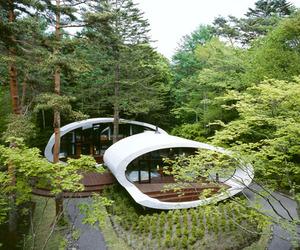 Ultramodern Shell Residence