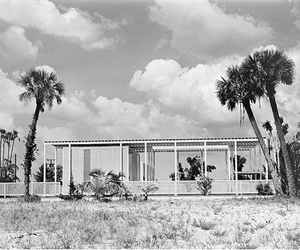 Umbrella House by Paul Rudolph, 1953