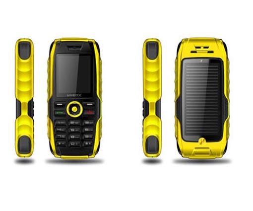 Umeox Solar Mobile Phone