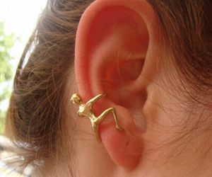 Uncommon Human Shaped Earrings