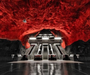 Underground Artwork in Stockholm's Metro Stations