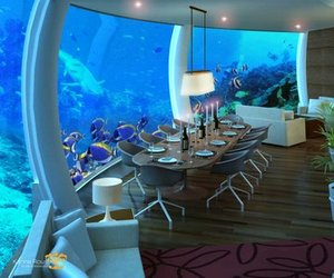 Underwater Dwellings: H2Ome and The Poseidon Resort
