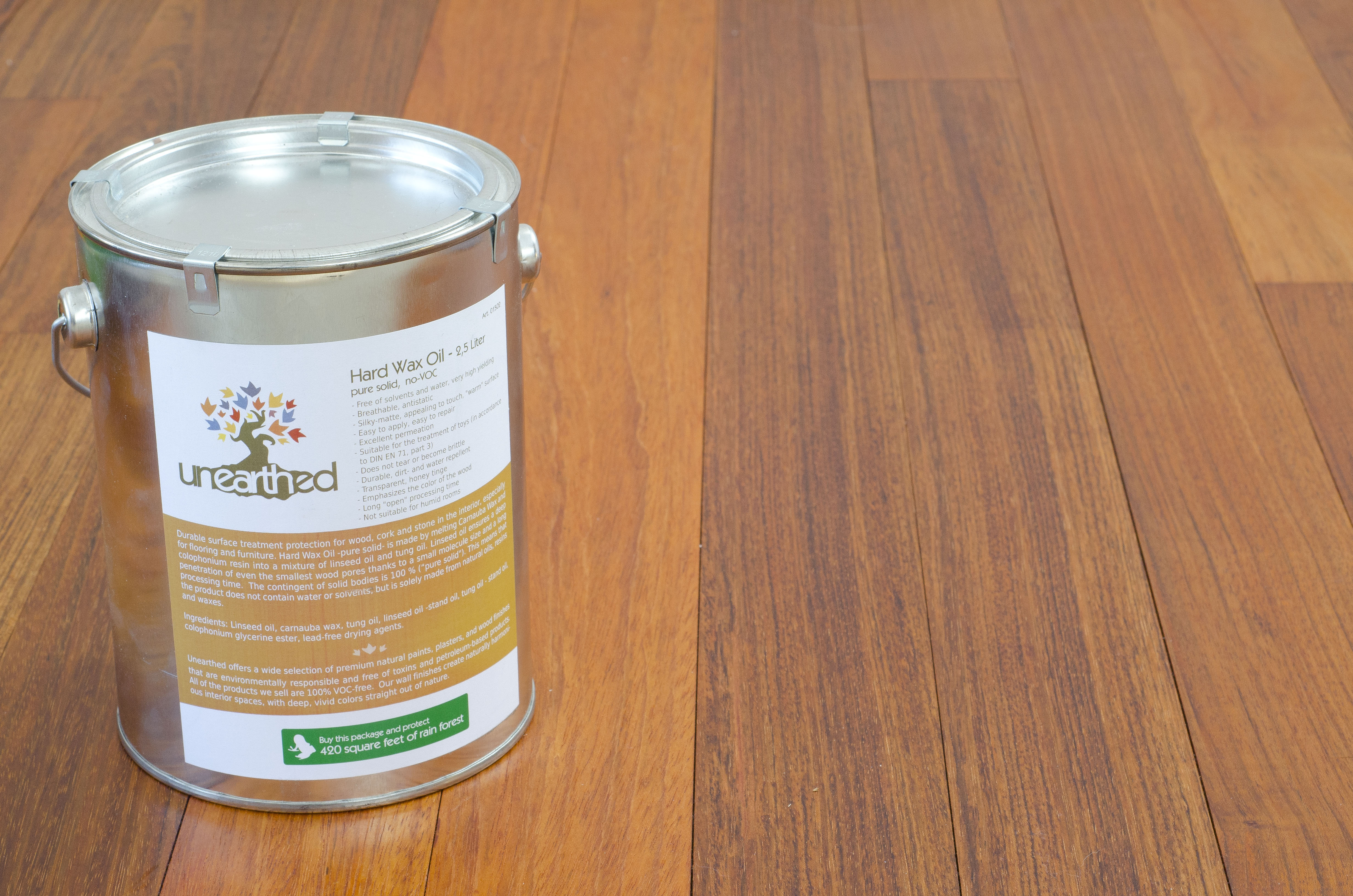 Unearthed Paints Hard Wax Oil Finish