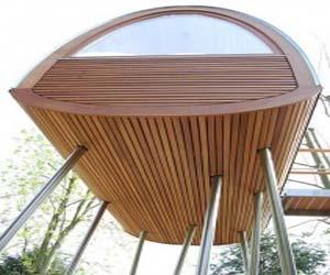Unique Architecture Stilt House by Treehouse Architects