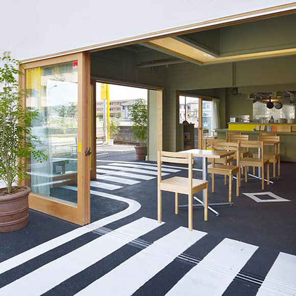 Unique Cafe By Suppose Design Office Japan