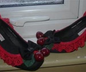 Unique Cherries Shoes Fabulous