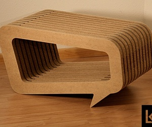 Unique Design of Conversation Table by Leo Kempf