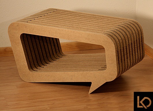 Unique Design Of Conversation Table By Leo Kempf