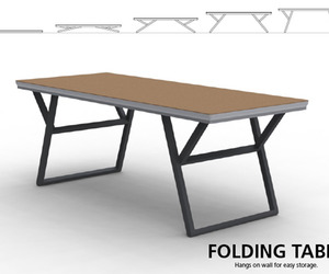 Unique Folding Table by Endrit Hajno
