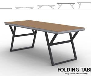 Unique Folding Table by Endrit Hajno