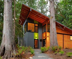 Unique Forest Home by Shell and Margaret Scott
