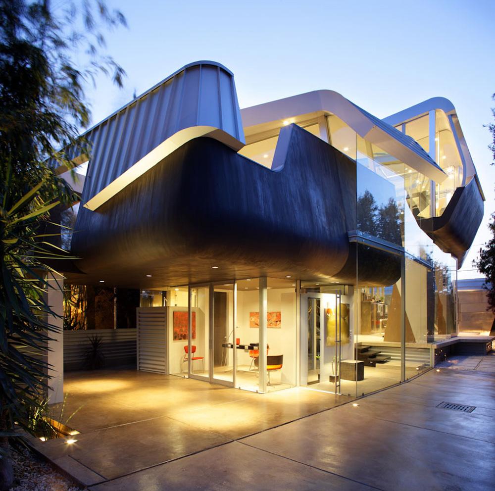 Fine Unique House In Venice By Coscia Day Architecture And Design Free Home  Designs Photos Ideas