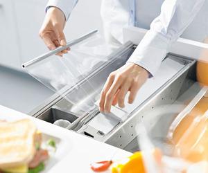 Unique Kitchen Storage by Blum