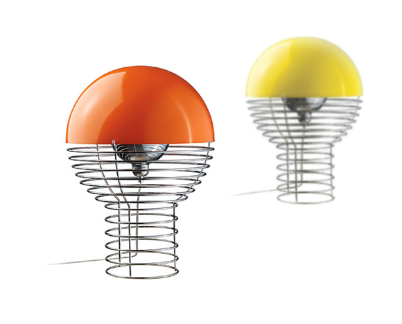 Panton lighting Floor Lamp Vintage Design Point Unique Modern Lighting Wire Lam By Verner Panton