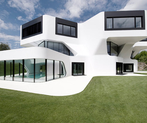 Unique modern villa in Germany
