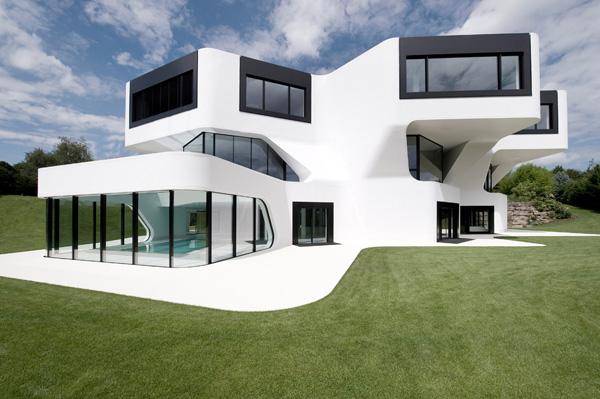 unique modern villa in germany