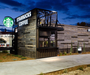 Starbucks Coffee: Unique Modular Store