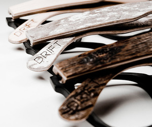 Unique Wooden Frames, Drift Eyewear by Chris Mantz