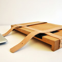 Unique Wooden Laptop Case by TheBetaVersion