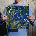 University Map Prints