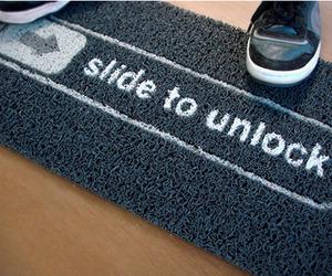 Unlock Doormat