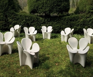 Unusual Clover Garden Chair by Ron Arad