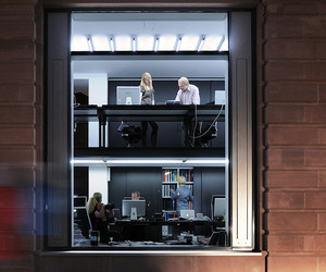 Unusual office rooms
