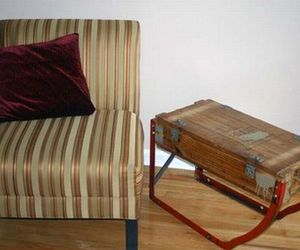 Upcycled Ammunition: Box Coffee Table