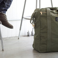 Upcycled Military Tent Bags by Field Aesthetic