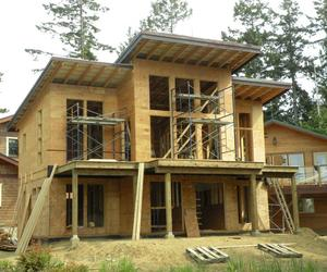 Update on Gabriola Island House Construction