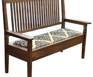 Upholstered Settee by The Joinery