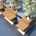Urban Open Space Furniture by Serhan Yenilmez