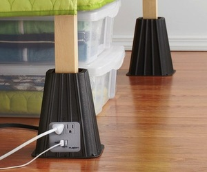 USB Bed Risers