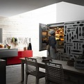 Valcucine Patterned Kitchen Storage