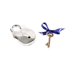 Valentine's Gift Ideas, Handmade Sterling Silver Padlock