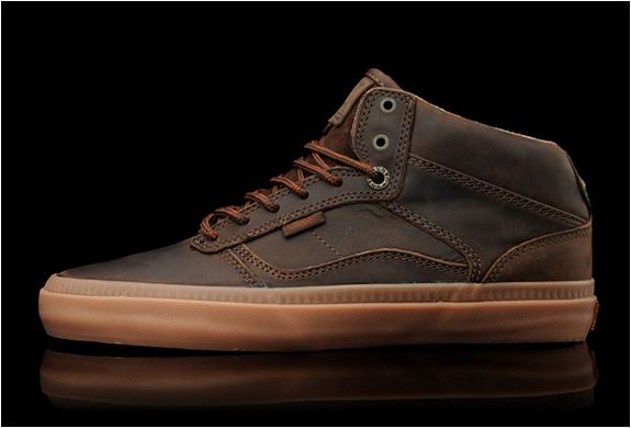 vans brown gum