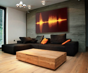 Vapor Sky Resonant Decor