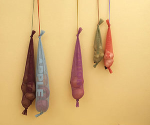 VegeNet: Colorful and cute vegetable net bags