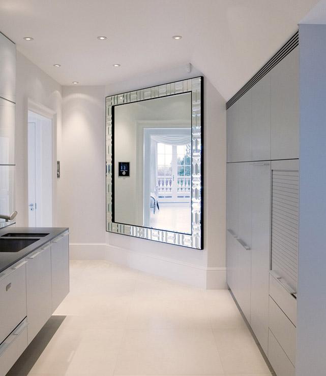Venetian Contemporary Designer Wall Mirror By Simpsons