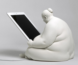 Venus of Cupertino iPad Docking Station by Scott Eaton.