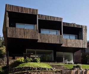 Veronica Arcos Designs Casadetodos Home in Chile