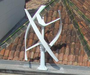 Vertical Axis Wind Turbine from Urban Green Technology